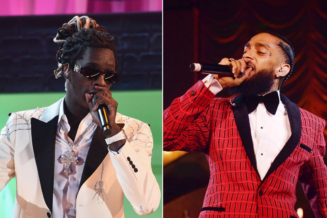 WAIR Networks - WAIR Report - Young Thug Raps About Nipsey